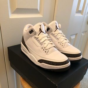"Air Jordan Retro 3 ""Mocha"" MENS Size 7"